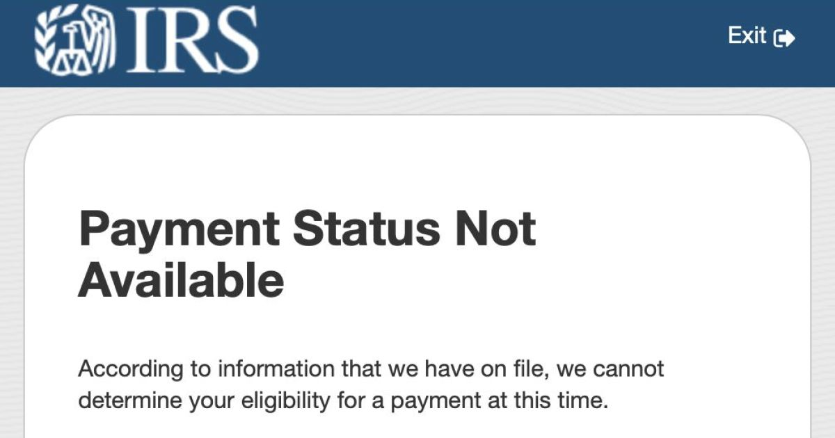 IRS website hack for coronavirus stimulus checks: All caps